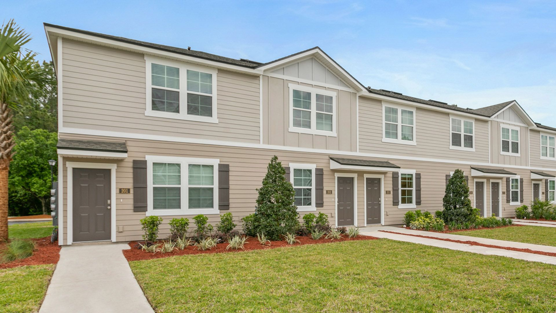 Exterior featured in the Jackson By D.R. Horton in Jacksonville-St. Augustine, FL