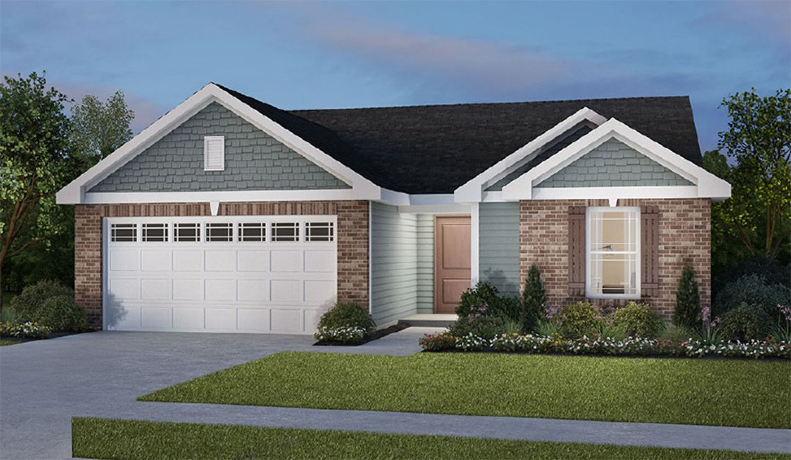 Exterior featured in the Hollister II By D.R. Horton in Fort Wayne, IN