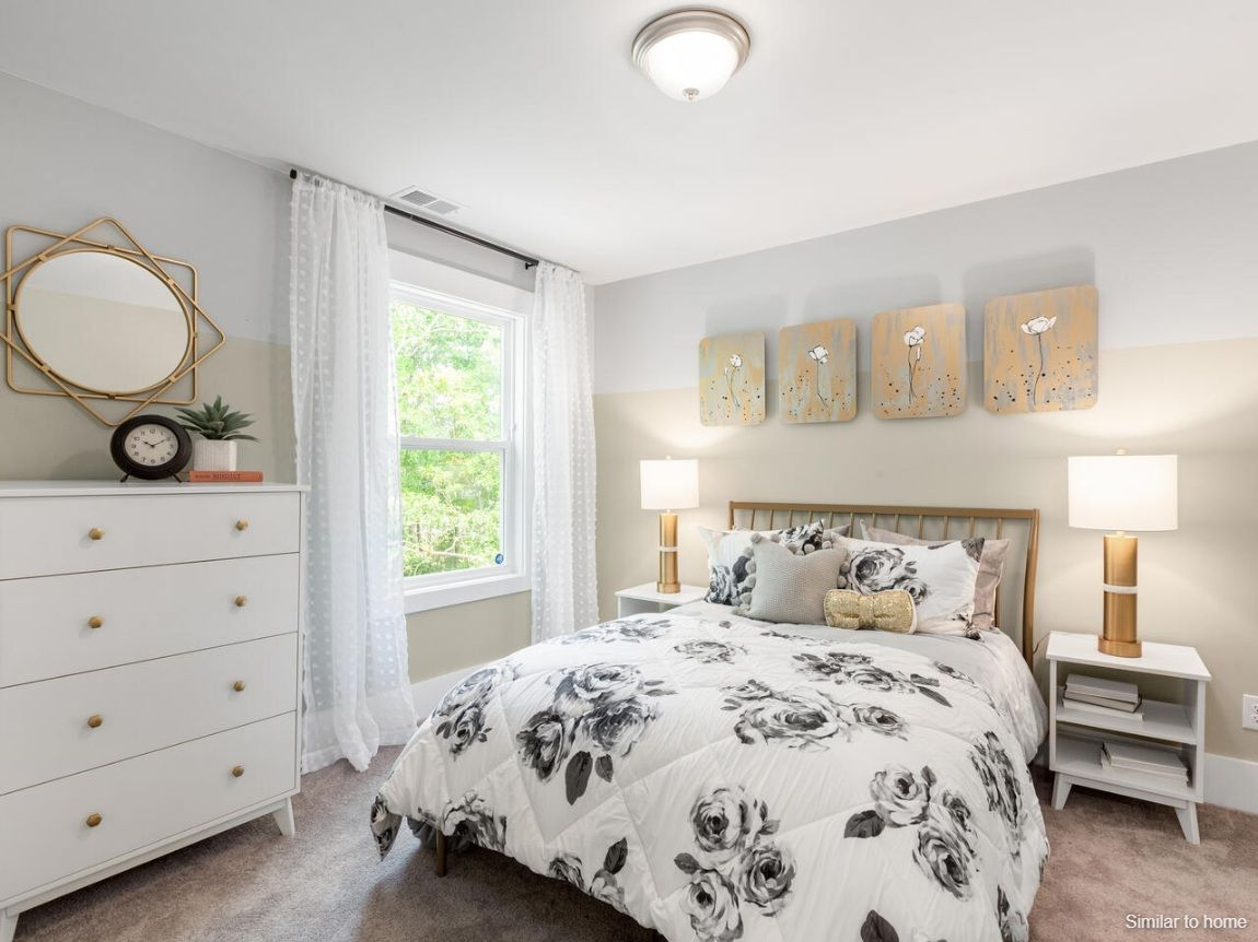 Bedroom featured in the WOODSTOCK By D.R. Horton in Jacksonville, NC