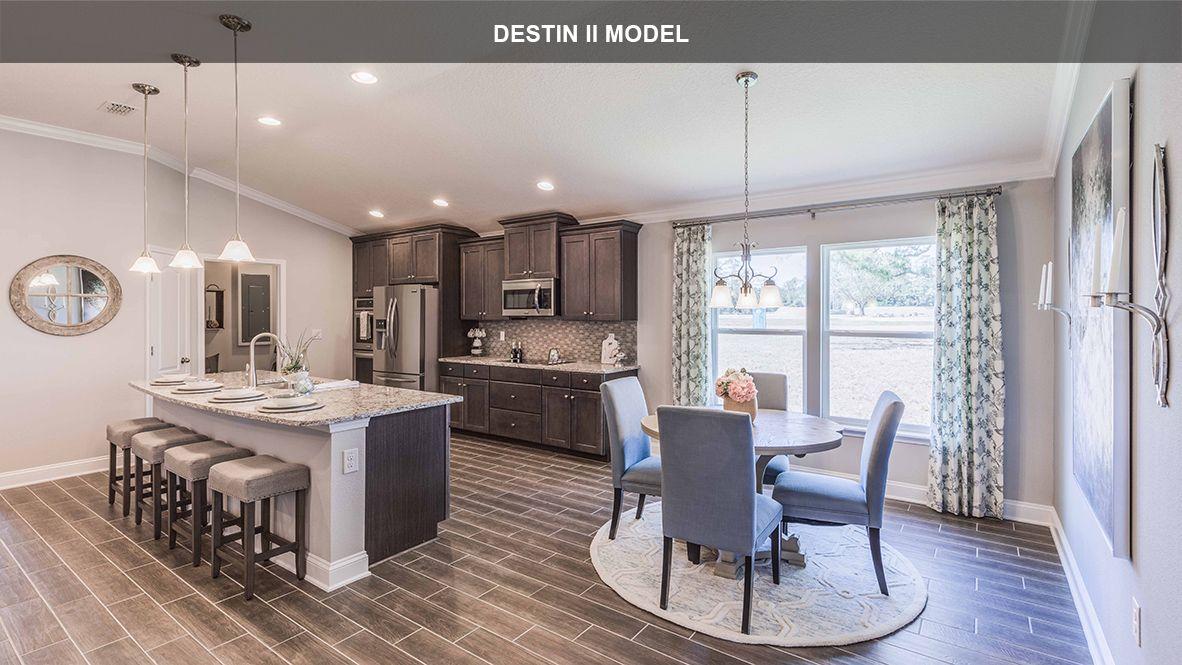 Kitchen featured in the DESTIN II By D.R. Horton in Jacksonville-St. Augustine, FL