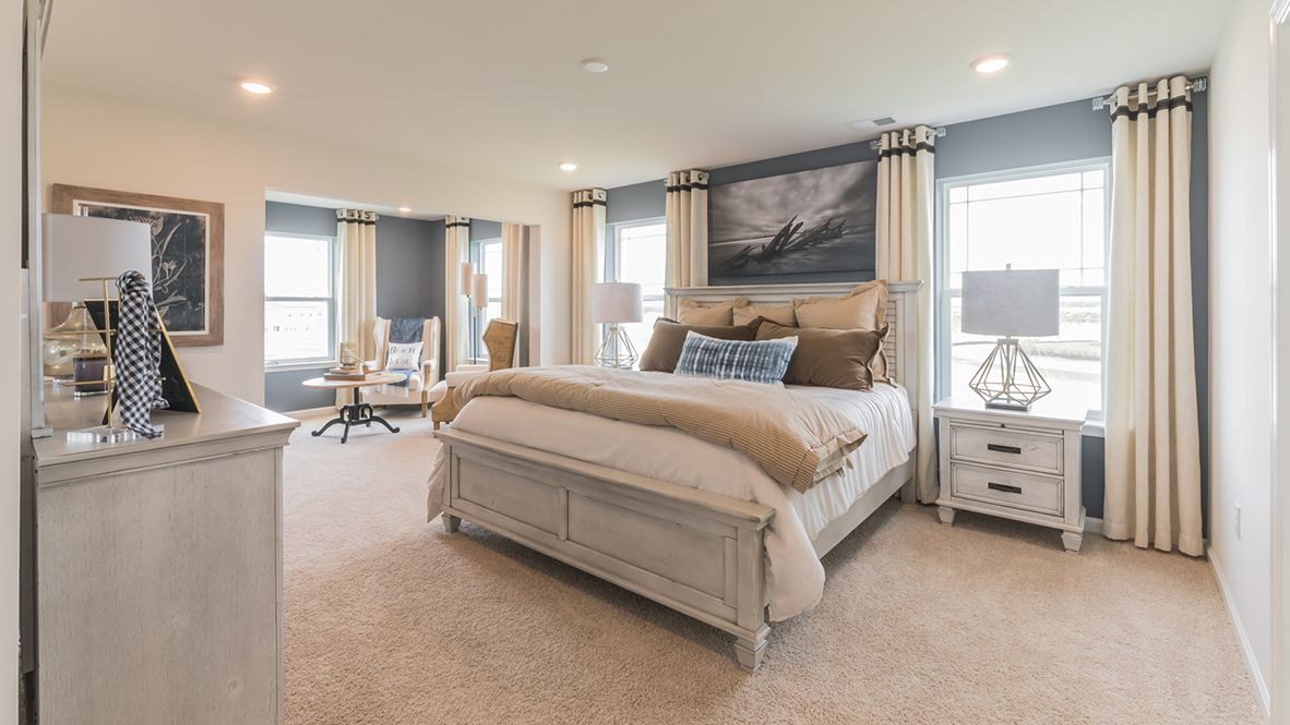 Bedroom featured in the Hampshire By D.R. Horton in Ocean County, NJ