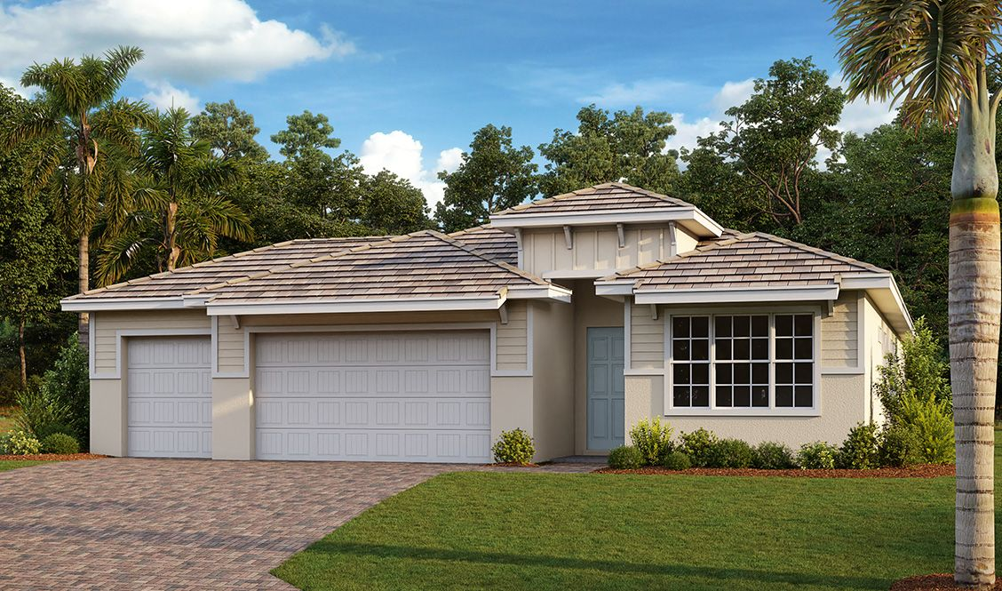 Exterior featured in the Shelby By D.R. Horton in Fort Myers, FL