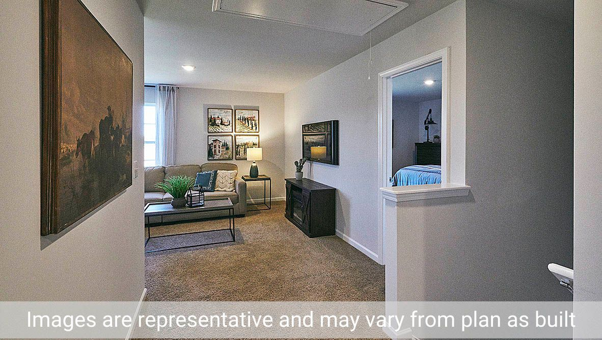 Living Area featured in the Vivian By D.R. Horton in Greenville, NC