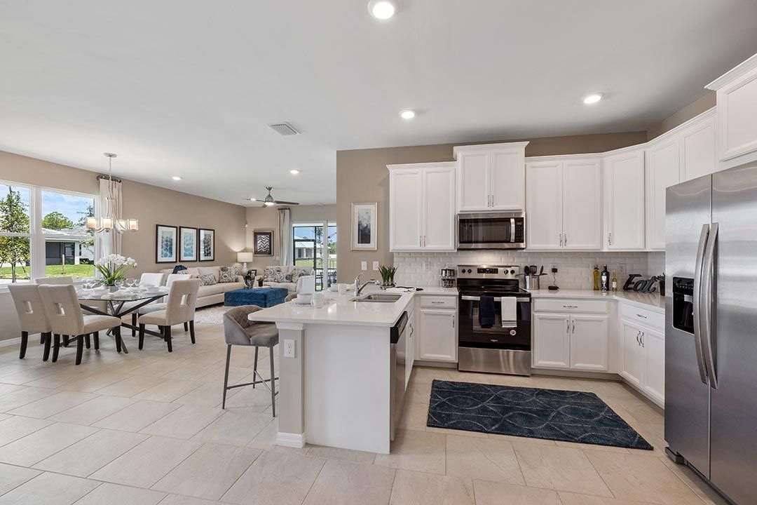 Kitchen featured in the Carrington By D.R. Horton in Naples, FL