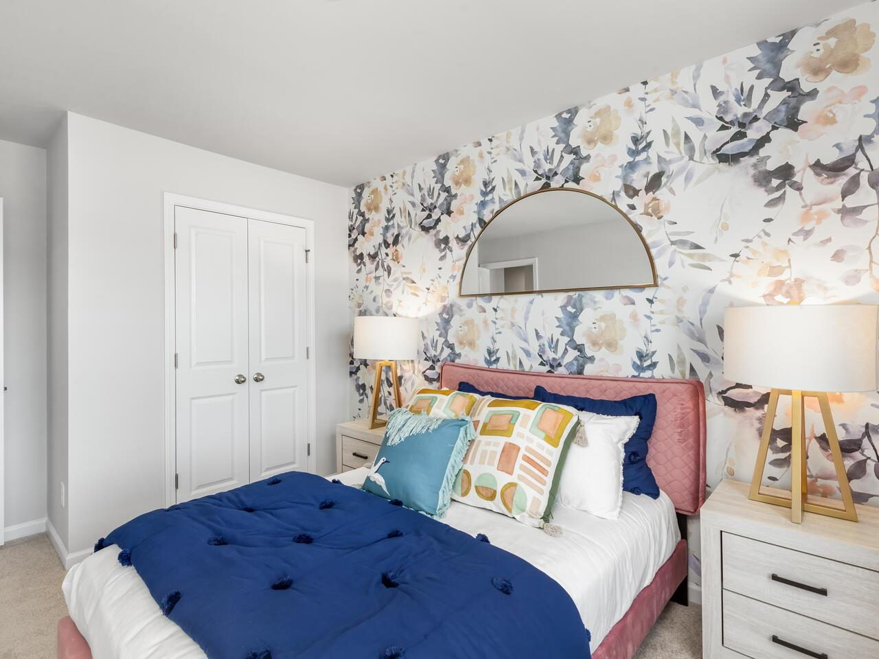 Bedroom featured in the DAVIS By D.R. Horton in Wilmington, NC