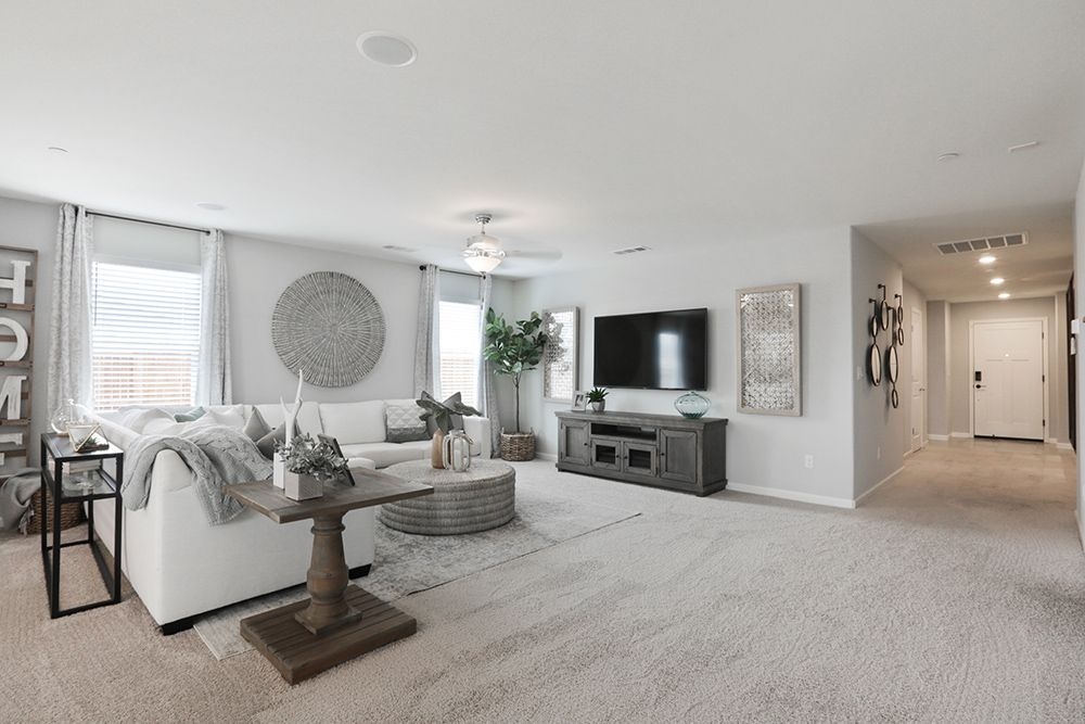 Living Area featured in the Coolidge By D.R. Horton in Modesto, CA