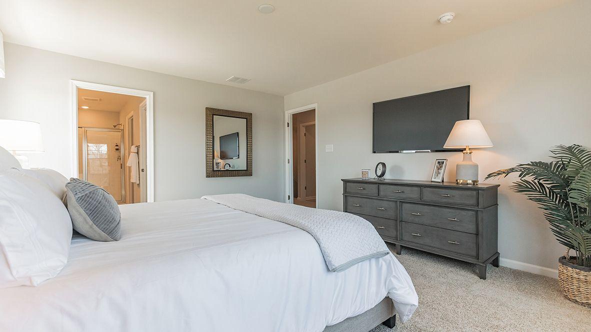 Bedroom featured in the Crofton By D.R. Horton in Philadelphia, NJ