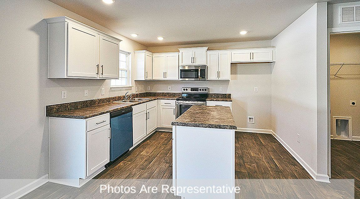 Kitchen featured in the Kyle By D.R. Horton in Greenville, NC