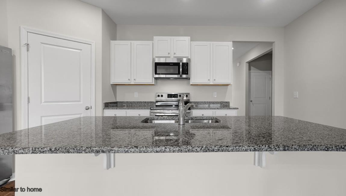 Kitchen featured in the CALI By D.R. Horton in Wilmington, NC