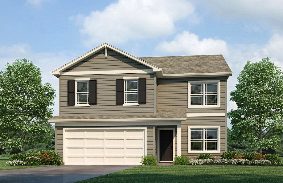 Exterior featured in the Bellamy By D.R. Horton in Fort Wayne, IN
