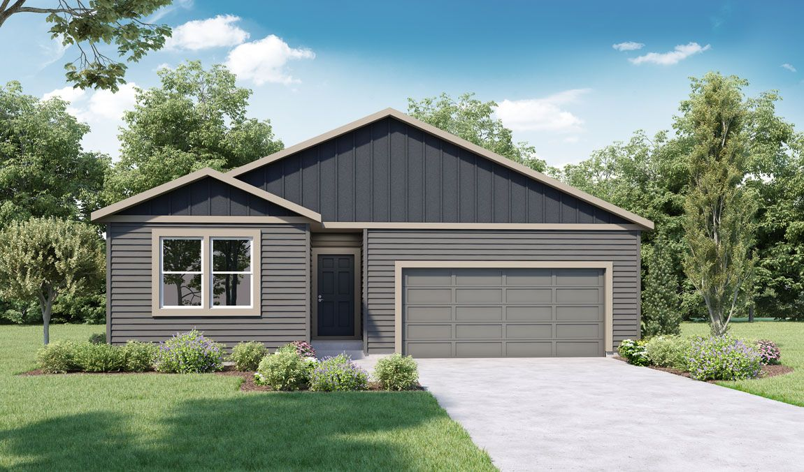 Exterior featured in the KERRY By D.R. Horton in Spokane-Couer d Alene, WA