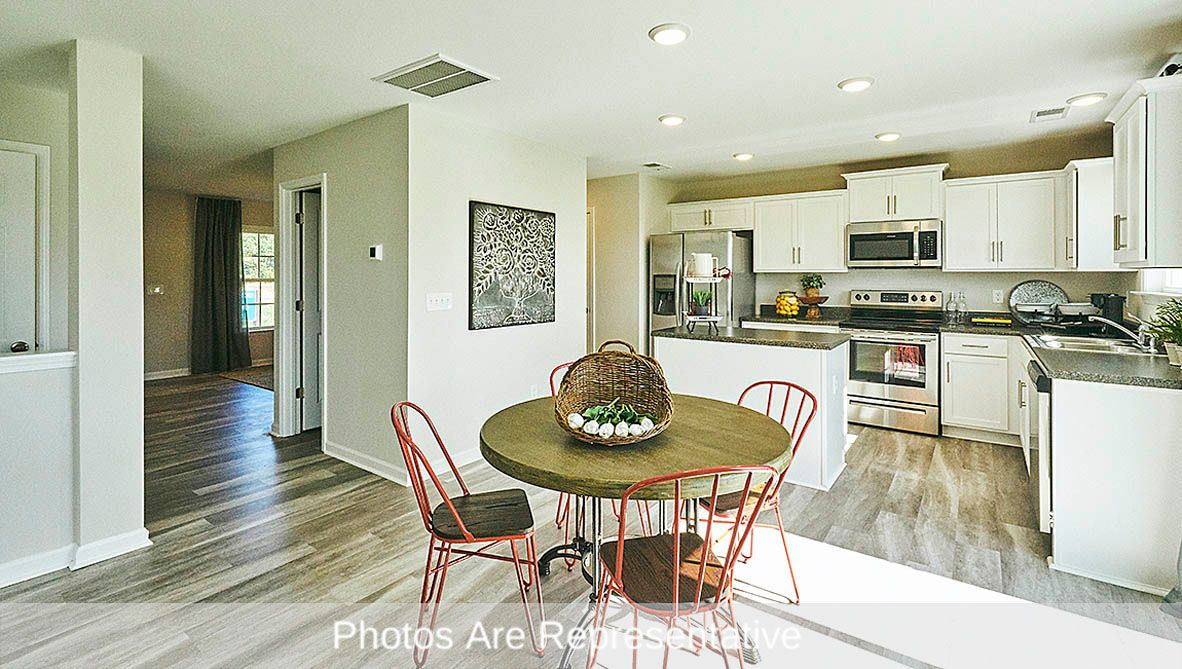 Kitchen featured in the Vivian By D.R. Horton in Greenville, NC