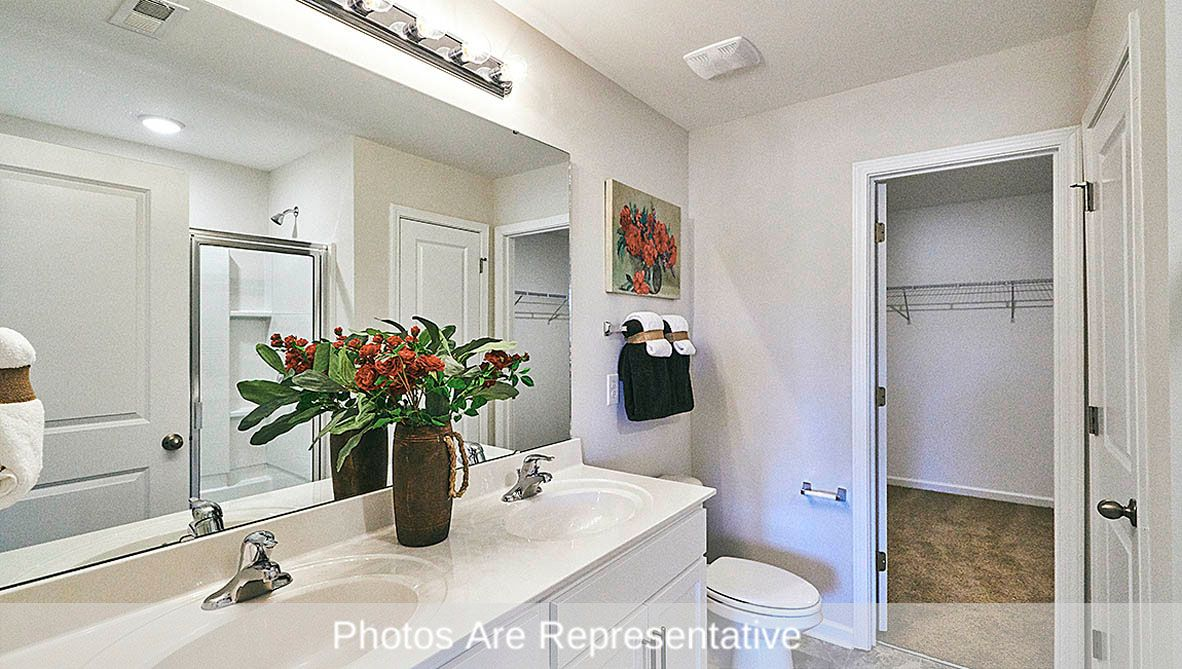 Bathroom featured in the Vivian By D.R. Horton in Greenville, NC