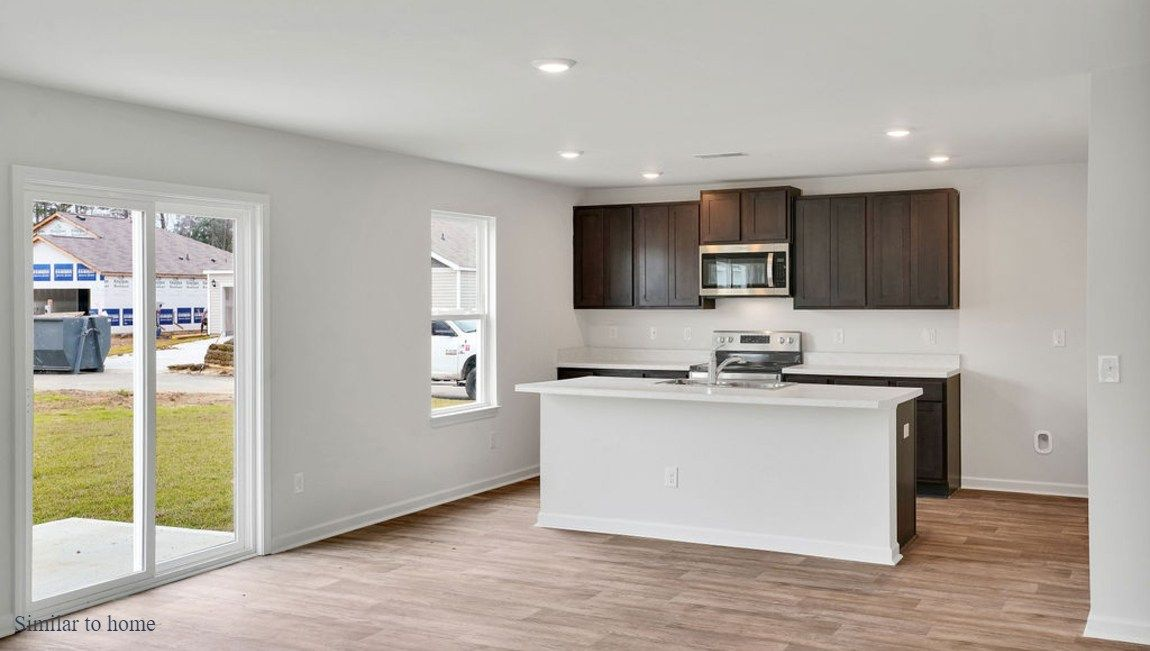 Kitchen featured in the GALEN By D.R. Horton in Jacksonville, NC