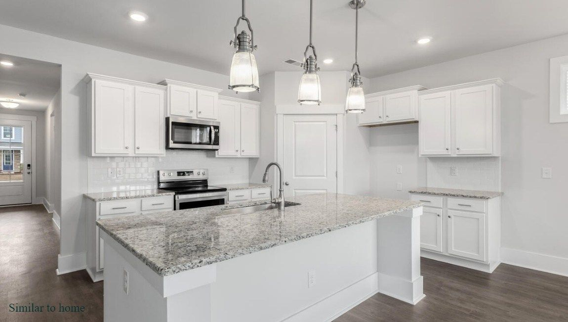 Kitchen featured in the DARBY By D.R. Horton in Jacksonville, NC