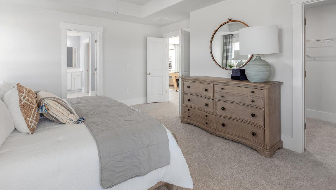 Bedroom featured in the HARBOR OAK By D.R. Horton in Jacksonville, NC
