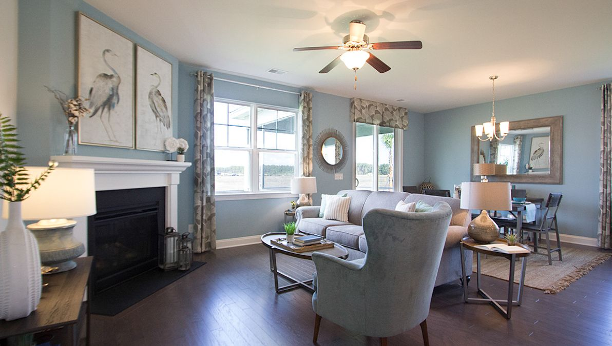 Living Area featured in the Belfort By D.R. Horton in Charleston, SC