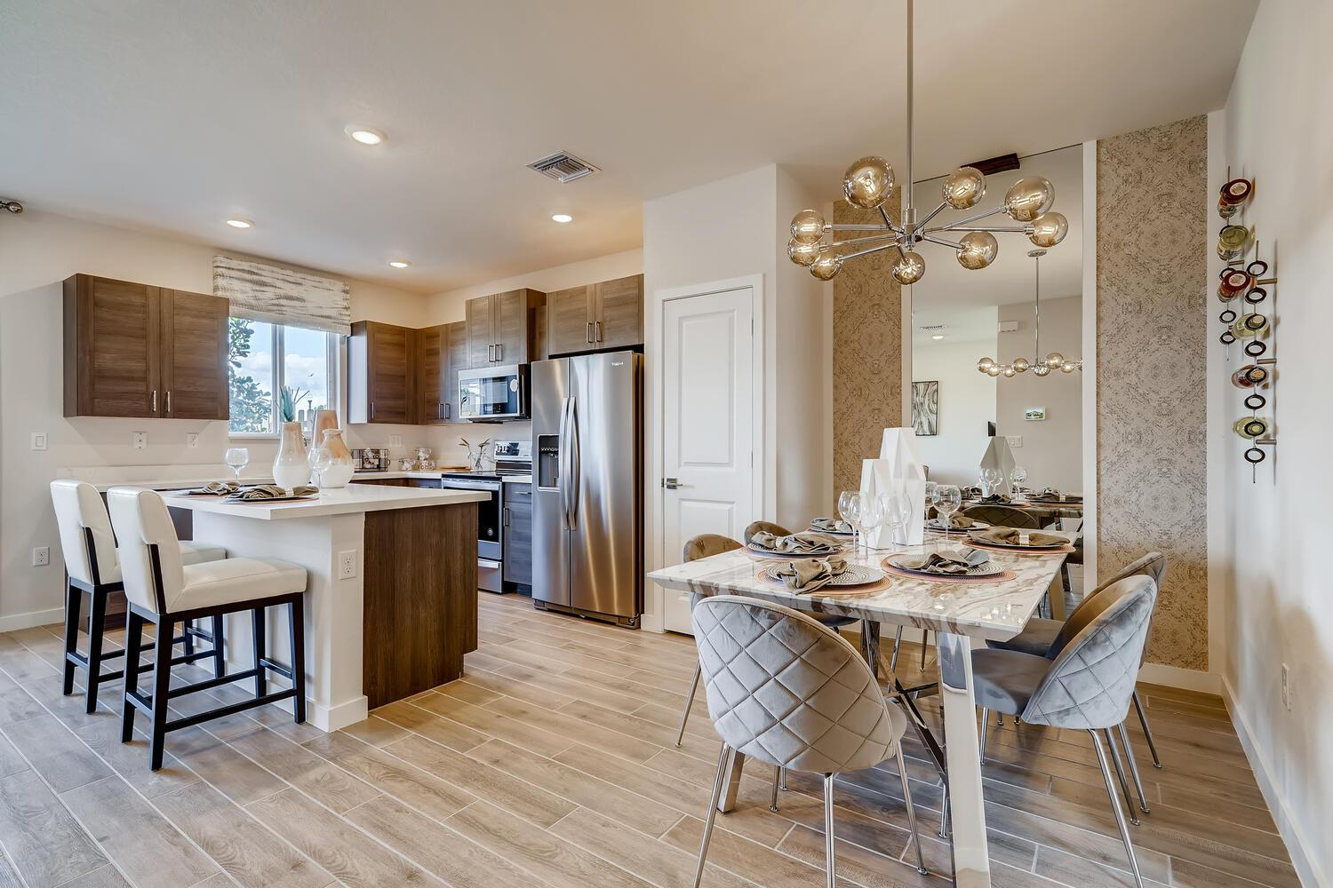 Kitchen featured in the Napa By D.R. Horton in Miami-Dade County, FL