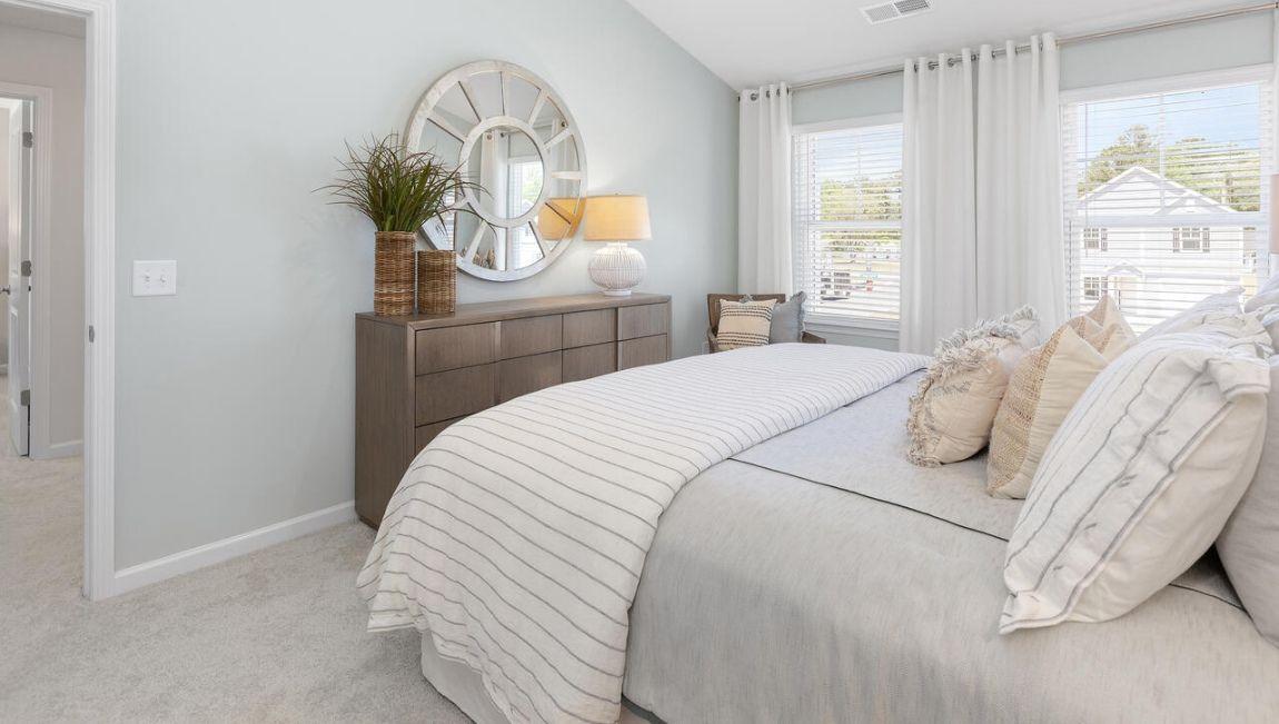 Bedroom featured in the RACHEL By D.R. Horton in Wilmington, NC