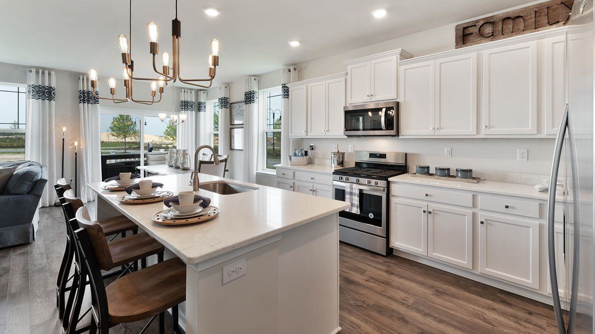 Kitchen featured in the Hampshire By D.R. Horton in Ocean County, NJ