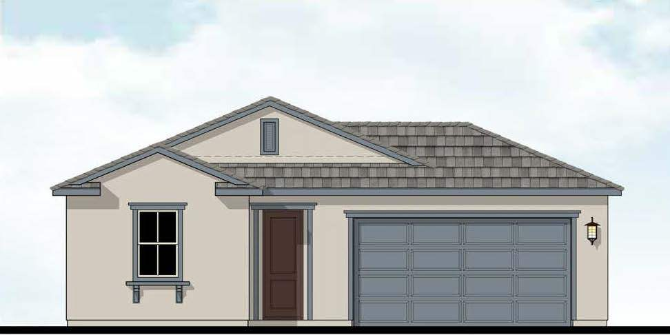 Exterior featured in the Everest By D.R. Horton in Modesto, CA