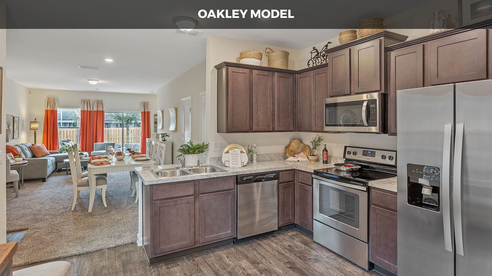 Kitchen featured in the OAKLEY By D.R. Horton in Jacksonville-St. Augustine, FL