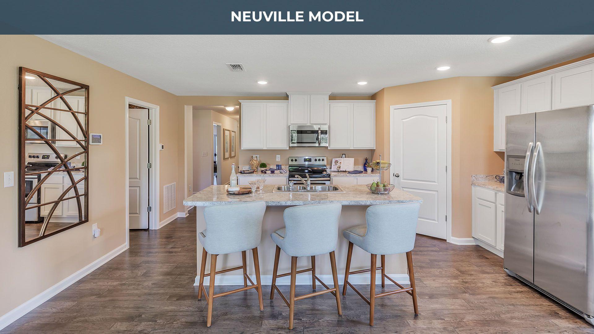Kitchen featured in the Neuville By D.R. Horton in Daytona Beach, FL
