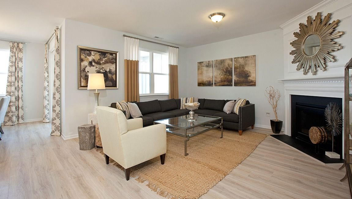 Living Area featured in the Bristol By D.R. Horton in Wilmington, NC