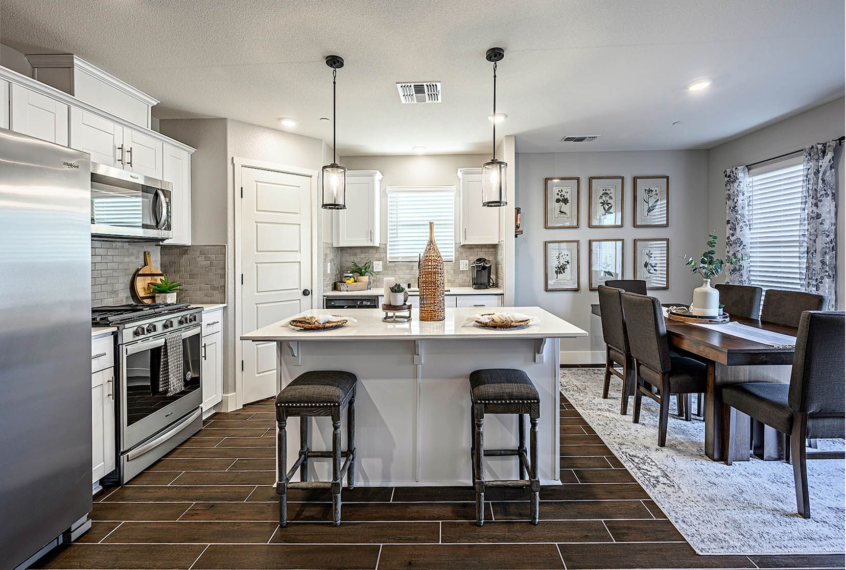 Kitchen featured in the Lark By D.R. Horton in Bakersfield, CA