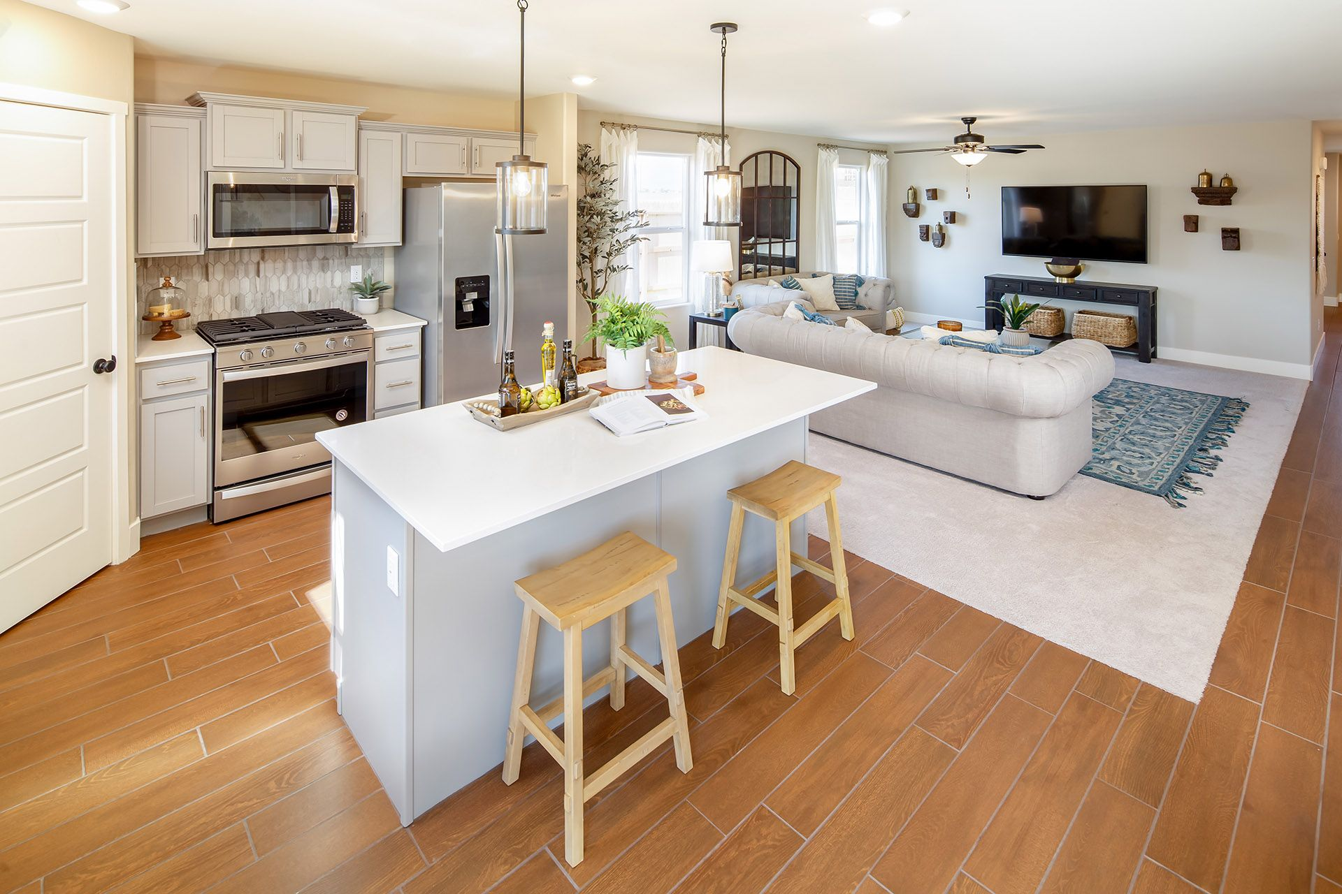 Living Area featured in the Oriole By D.R. Horton in Bakersfield, CA