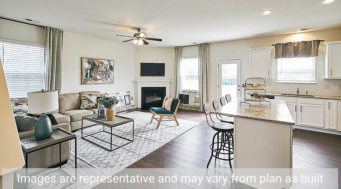 Living Area featured in the Winston By D.R. Horton in Rocky Mount, NC