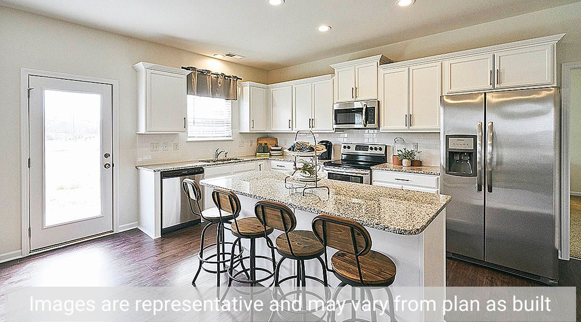 Kitchen featured in the Winston By D.R. Horton in Rocky Mount, NC