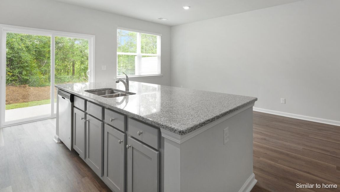 Kitchen featured in the DAVIS By D.R. Horton in Wilmington, NC