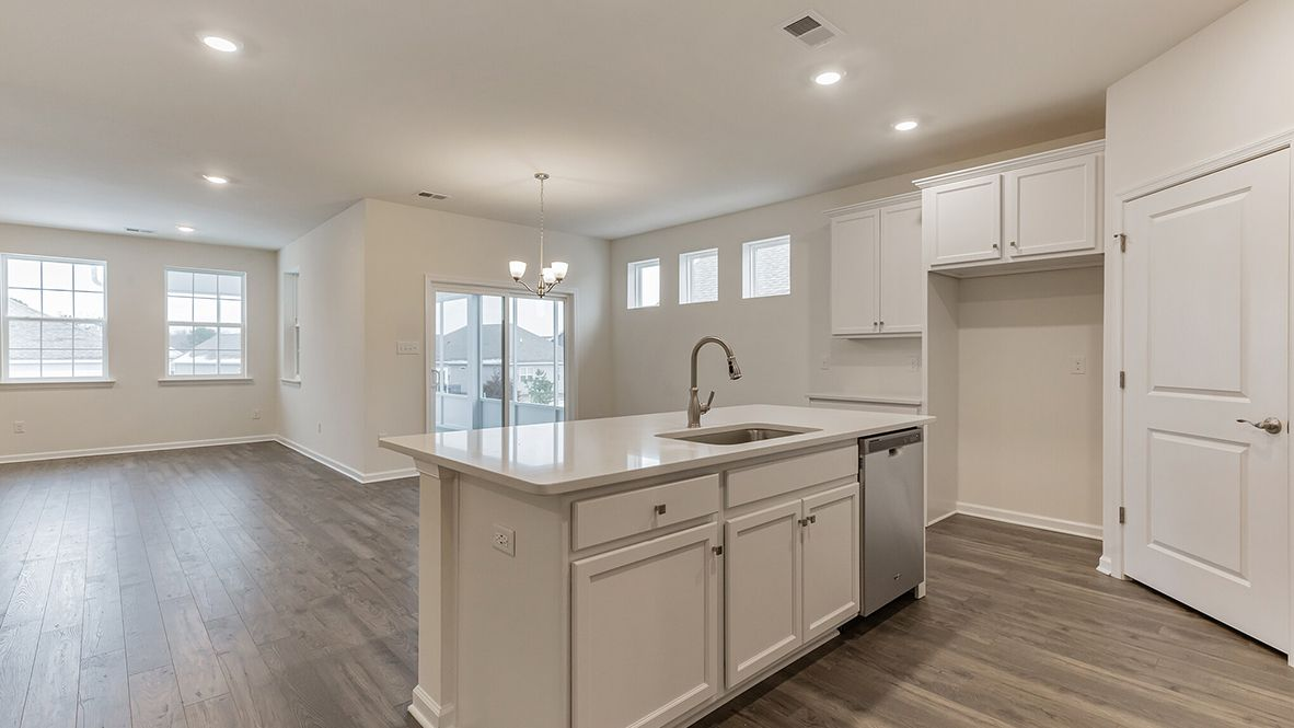 Kitchen featured in the Dover By D.R. Horton in Allentown-Bethlehem, PA