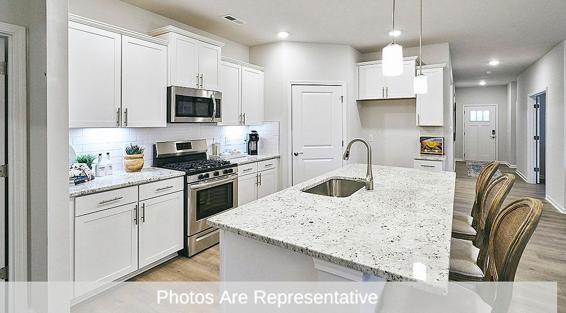Kitchen featured in the Clifton By D.R. Horton in Greensboro-Winston-Salem-High Point, NC