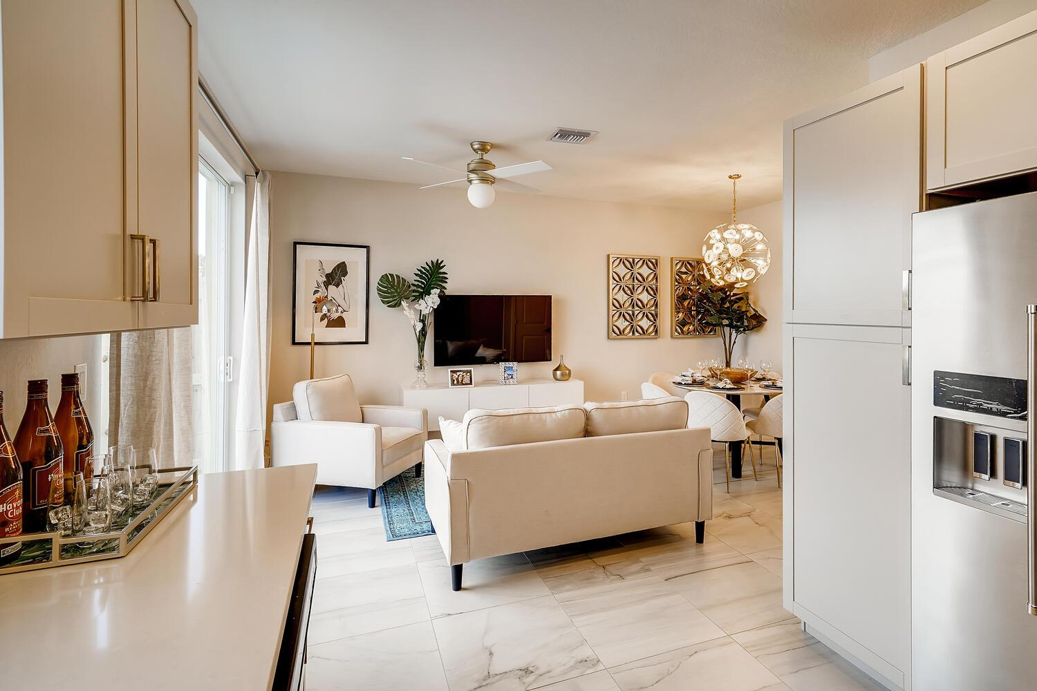 Living Area featured in the Havana By D.R. Horton in Miami-Dade County, FL