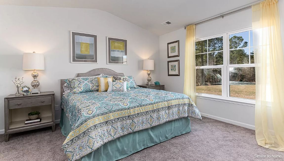Bedroom featured in the TUSCAN By D.R. Horton in Wilmington, NC