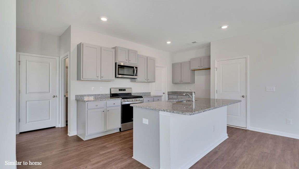 Kitchen featured in the ROBIE By D.R. Horton in Jacksonville, NC