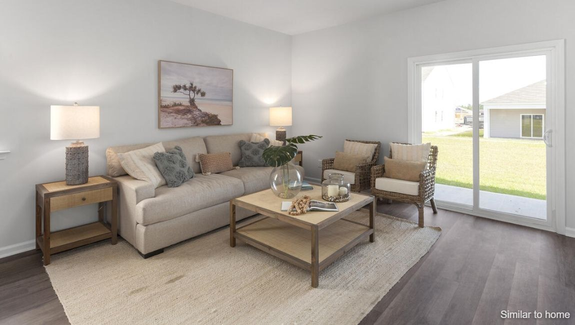 Living Area featured in the ALLEX By D.R. Horton in Jacksonville, NC