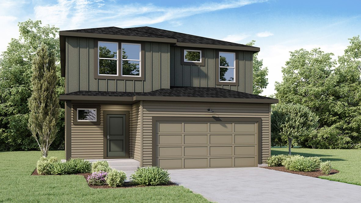 Exterior featured in the HAWTHORNE By D.R. Horton in Spokane-Couer d Alene, WA