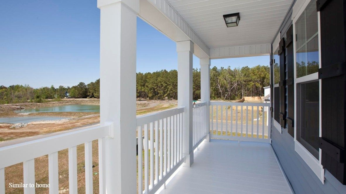 Exterior featured in the HARBOR OAK By D.R. Horton in Jacksonville, NC
