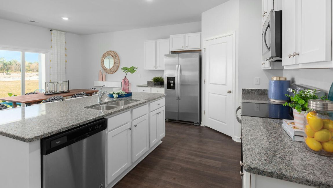 Kitchen featured in the CALI By D.R. Horton in Jacksonville, NC