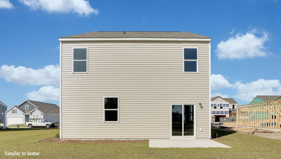 Exterior featured in the ROBIE By D.R. Horton in Jacksonville, NC