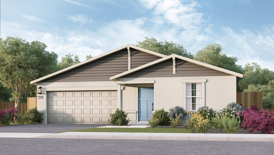 Exterior featured in the Coolidge By D.R. Horton in Modesto, CA