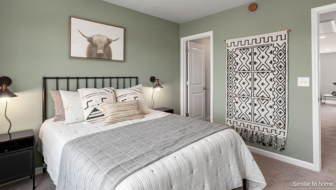 Bedroom featured in the MARION By D.R. Horton in Wilmington, NC
