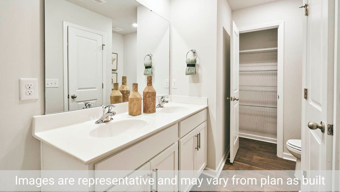 Bathroom featured in the Holly By D.R. Horton in Greenville, NC