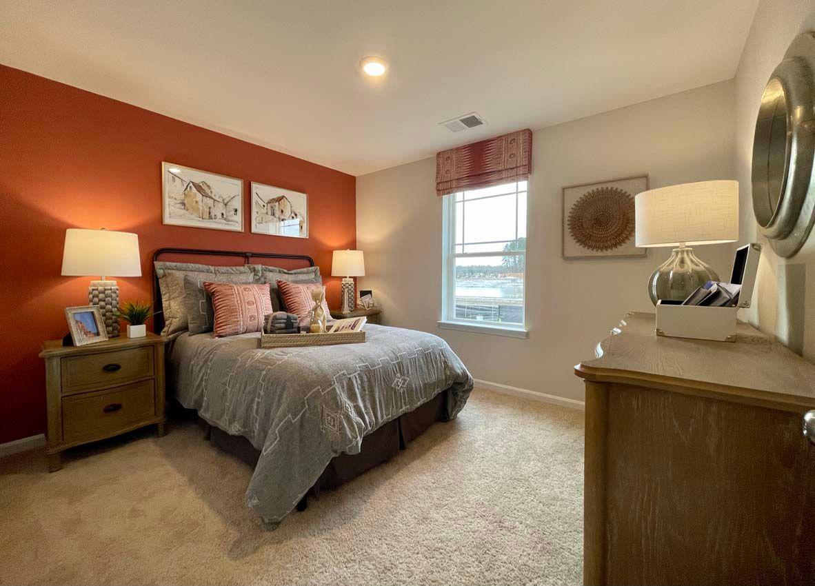 Bedroom featured in the BOARDWALK TWIN By D.R. Horton in Dover, DE