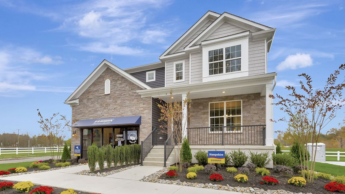 Exterior featured in the Hampshire By D.R. Horton in Atlantic-Cape May, NJ