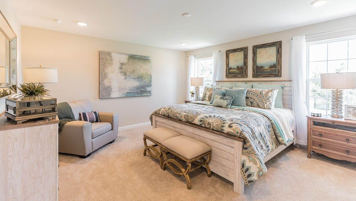 Bedroom featured in the Winston By D.R. Horton in Philadelphia, NJ