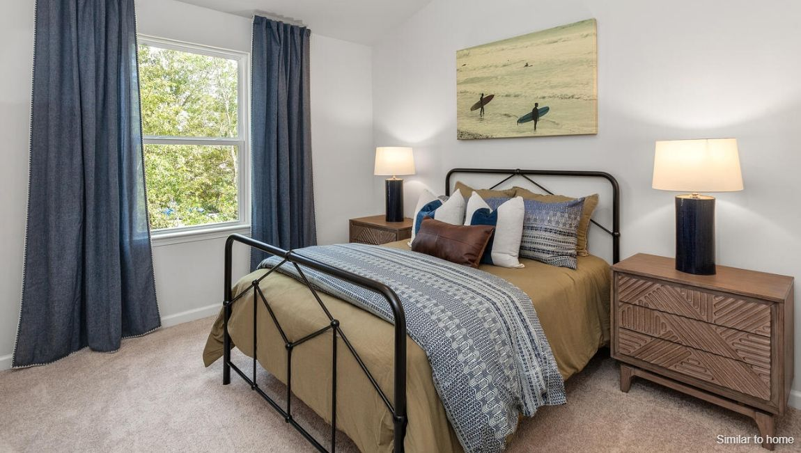 Bedroom featured in the PRINCETON By D.R. Horton in Wilmington, NC